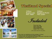 Thailand Special…!